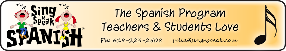 Sing 'n Speak Spanish | Spanish classes in San Diego, CA