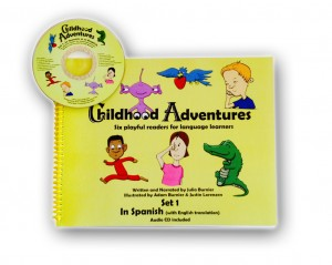 Childhood Adventures Storybook with CD