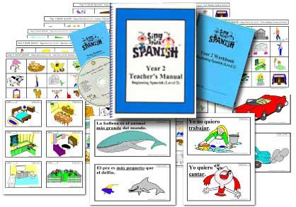 Year 2 Spanish Teaching Materials